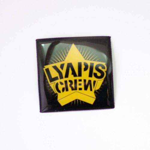Объемный стикер Lyapis Crew